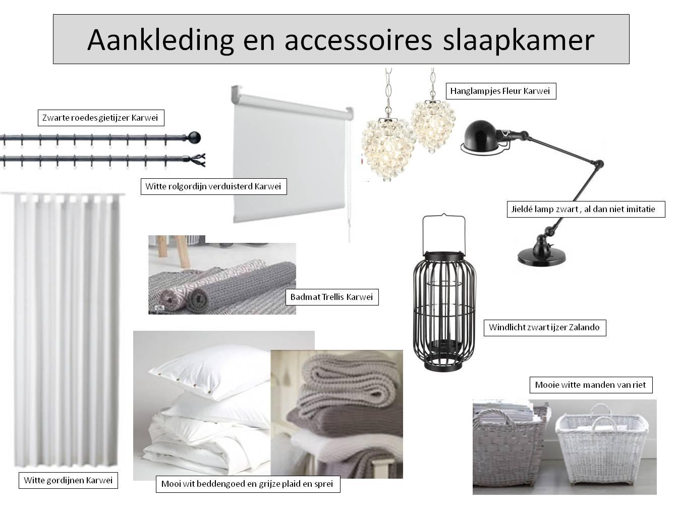 Aankleding en accessoires slaapkamer - Monique Disteli Interieur & Tuin